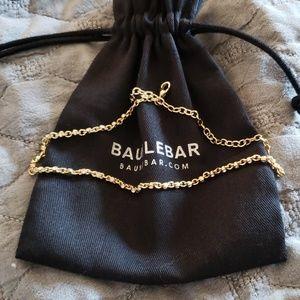 Baublebar Gold Rhinestone Choker Necklace